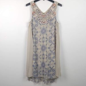 Free People | Beaded Sequin Tunic Dress Boho